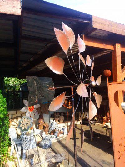 Rostskulpturen für den Garten